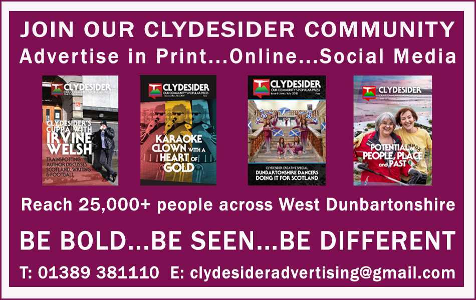 Clydesider web ad