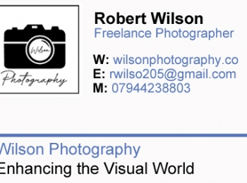 Robert Wilson Photographer
