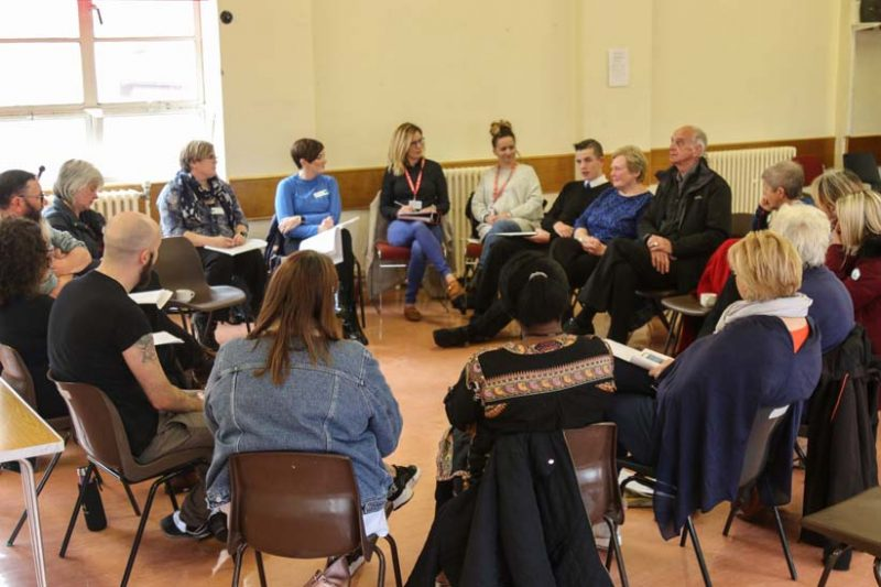 People at the Focus on Change event discussed how to tackle poverty in West Dunbartonshire