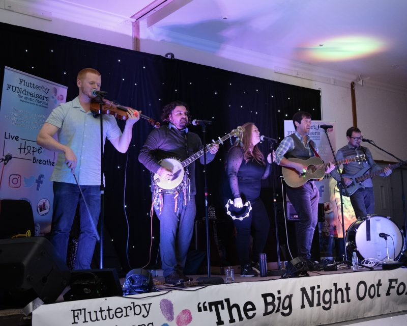 Have Mercy Las Vegas provide musical entertainment at the Big Night Oot fundraiser