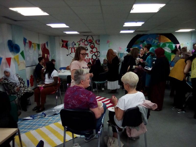 Community Gathering in Clydebank