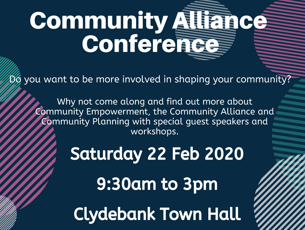 Community Alliance poster