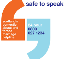 Scotlands domestic abuse & forced marriage helpline number 0800 027 1234