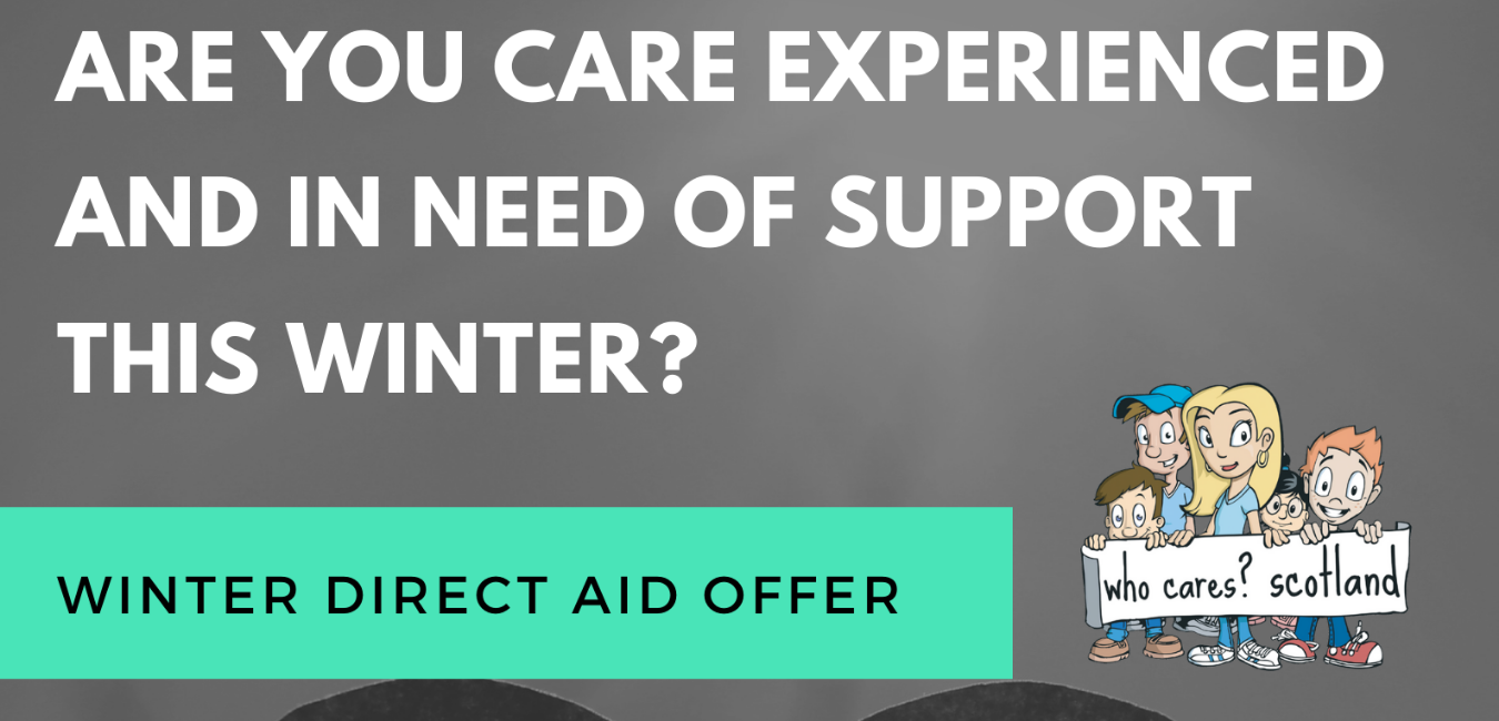 Winter Aid Help for Care Experienced