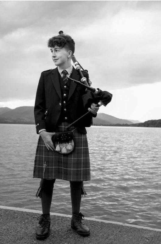 Mark looking out across Loch Lomond