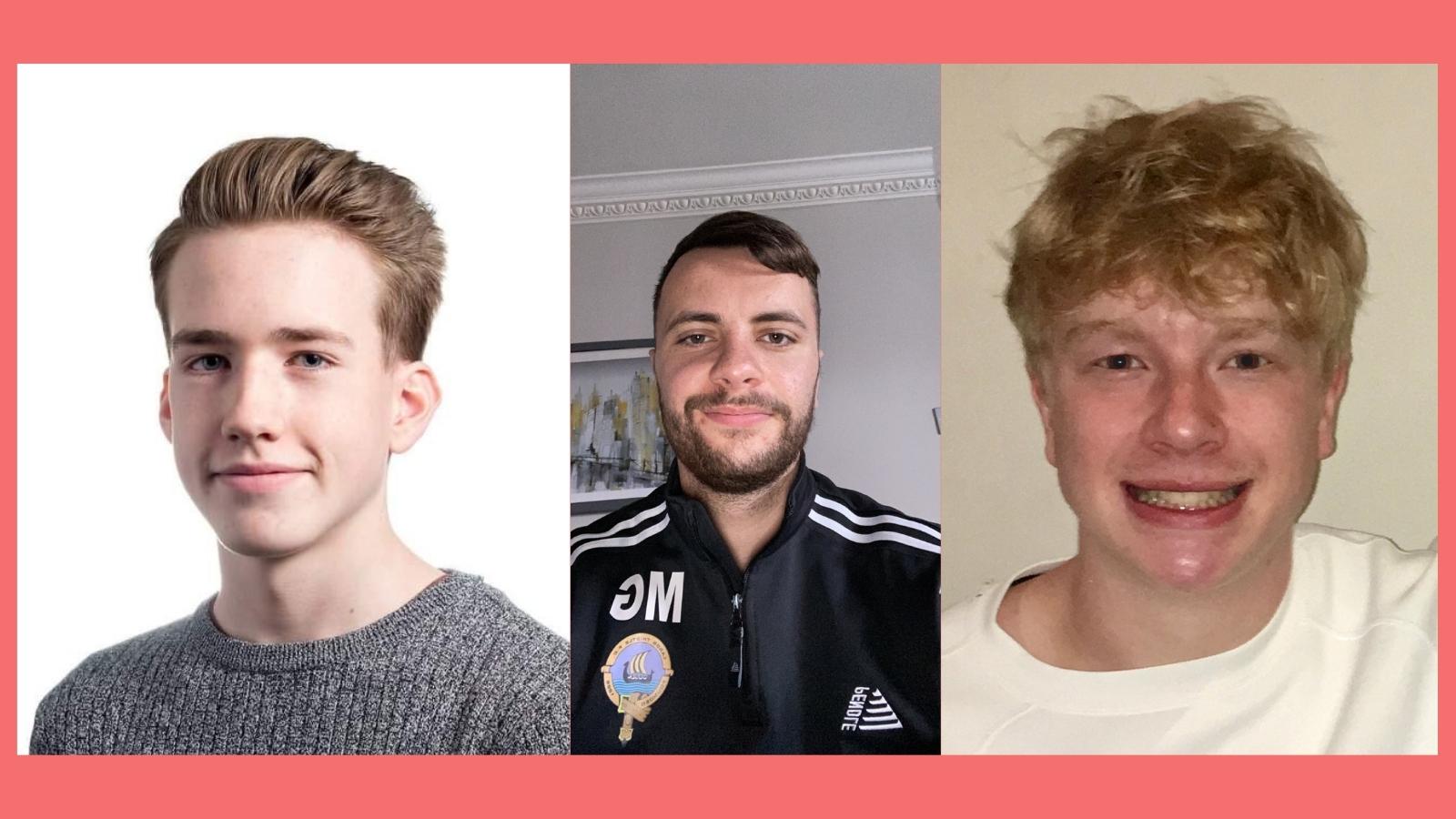 Fraser Nicoll, Murray Grayston & Robbie Gardner