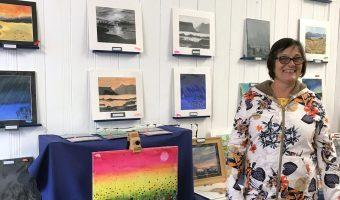 Cath in Van Gash Art Gallery