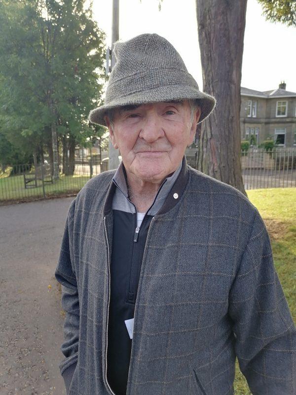 Image of elderly gentleman.